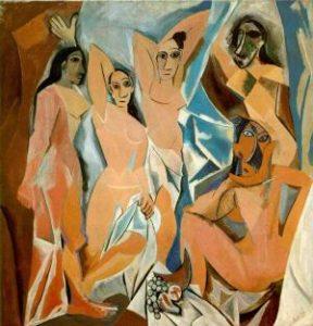 Pablo_Picasso_-_Desmoiselles_d'Avignon