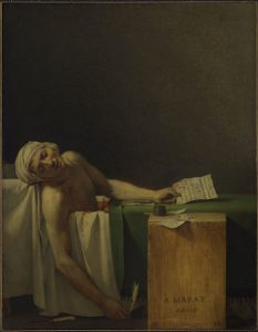 acques-Louis David, Marat Assassinated