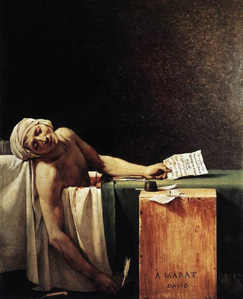 Jacques-Louis David, Death of Marat