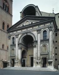 Alberti, San Andrea facade