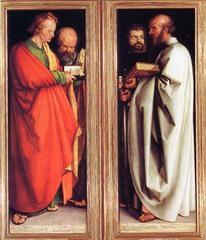 Albrecht Durer Four Apostles  1523-1526