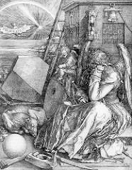 Albrecht Durer Melencholia  1514