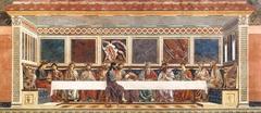 Andrea del Castagno (1423-1457) Last Supper S. Apollonia, Florence c. 1445-50
