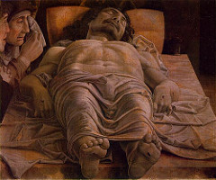 Andrea Mantegna (1431-1506) Lamentation over the body of Christ c. 1480