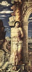 Andrea Mantegna (1431-1506) Martyrdom of St. Sebastian  c.1450s