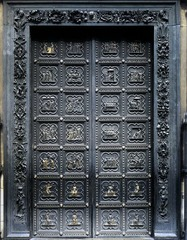 Andrea Pisano, 1st set of bronze doors for Baptistery, 1330-1336. 28 panels Life of St.John the Baptist