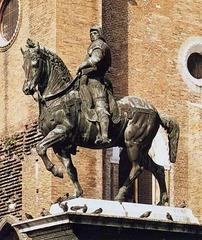 Andrea Verrochio (1435-1488) Equestrian Moment of Colleoni  Venice c. 1483-1488
