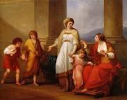 Angelica Kauffmann, Cornelia presenting her children as her treasures