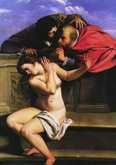 Artemisia Gentileschi, Susanna and the Elders, Pomersfelden