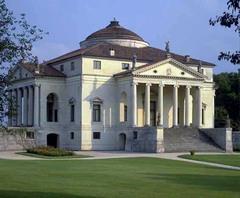 Artist: Andrea Palladio Title: Villa Rotonda Place: Vicenza, Italy Time: 1550