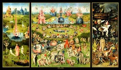 Artist: Bosch Title: Garden of Earthly Delights Time: 1500