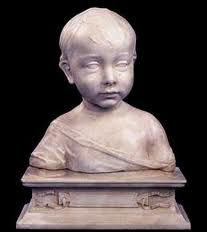 Artist: Desiderio da Settignano Title: Bust of a Little Boy Stylistic Period: 15th Century-Early Renaissance Marble. (Lecture Notes and internet sources)