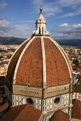 Artist: Filippo Brunelleschi Title: Florence Cathedral dome Place: Florence, Italy Time: 1420