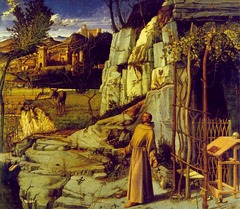 Artist: Giovanni Bellini Title: St. Francis in the Desert Place: Venice, Italy Time: 1490