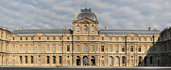 Artist: Pierre Lescot (architect) and Jean Goujou (sculptor) Title: West Wing of the Cour Carree Place: Palais du Louvre, Paris, France Time: 1550