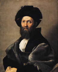 Artist: Raphael Style: Mannerist Medium: Oil on panel Museum/City: Louvre, Paris Connection: Inspired by humanist ideas 1. Raphael met the humanist through native connections 2. The subject of the painting was known for his humanist work, The Courtier 3. Considered one of the most important portraits of the Renaissance