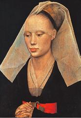 Artist: Roger Van Der Weyden Title: Portrait of a Lady Time: 1460