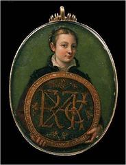 Artist: Sofonisba Anguissola Title: Self-Portrait Time: 1550