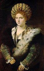 Artist: Titian Title: Isabella d'Este Time: 1530