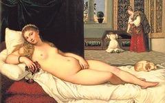 Artist: Titian Title: Venus of Urbino Place: Galleria degli Uffizi, Florence, Italy Time: 1540