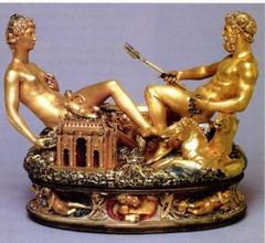 Benvenuto Cellini Saltcellar of Francis 1540-1543