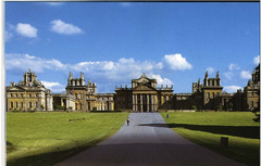 Blenheim Palace, 1705, Sir John Vanbrugh & Nicholas Hawksmoor, Woodstock, England. - English Baroque emphasized additive masses, elements, and surfaces to create geometric complexity.