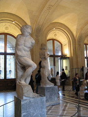 Bound Slave by Michelangelo, High Ren - multiple statues, originally 20 planned - 6'10