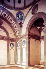 Brunelleschi, Pazzi Chapel interior