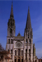 Chartres Cathedral facade