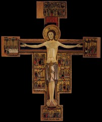 Christ on the Cross, Pisan/Florentine School, late 12th-early 13th c., tempera on panel