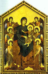 Cimabue Madonna Enthroned