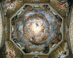 Correggio Assumption of the Virgin  Duomo Parma 1522-1530