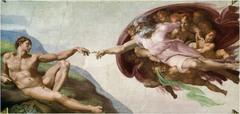 Creation of Adam Michelangelo Rome, Italy