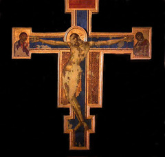 Cruxix, Cimabue, 1280s, S. Croce (after damage)