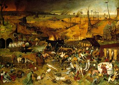 Define and give role of Black Death in helping to end feudalism and cause the renaissance