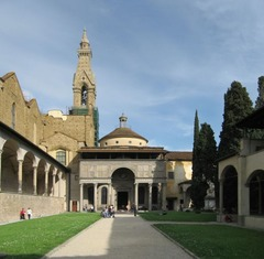 Disputed Authorship- Pazzi chapel at S. Croce