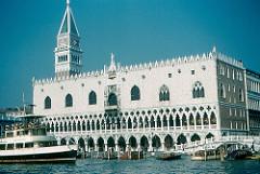 Doge's Palace, Venice, 1340-late 1400s
