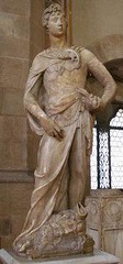 Donatello David 1408-09 marble, Bargello