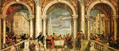 Feast in the House of Levi. Veronese.