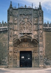 Figure 23-23 Portal, Colegio de San Gregorio, Valladolid, Spain, ca. 1498.