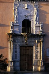 Figure 23-23A Portal, Casa de Montejo, Merida, Mexico, 1549.