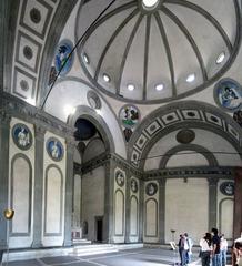 Filippo Brunelleschi. Italian. Pazzi Chapel Interior wall, Florence, beg. 1433. Early Renaissance.