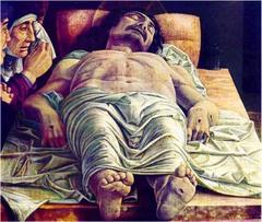 Forshortened Christ Mantegna Region of Northern Italy