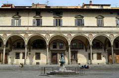 Foundlings Hospital -Filippo Brunelleschi -begun 1429 -Florence, Italy