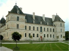 French Reniassance, Chateau d' Ancy le france.
