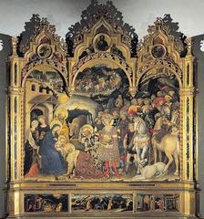 Gentile da Fabriano (1370-1427) Adoration of the Magi 1423