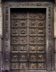Ghiberti's north doors. 1403-1424. 28 panels Life of Christ