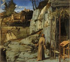 Giovanni Bellini St. Francis in Ecstasy  1485