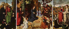 Hugo van der Goes (c.1440-82) Portinari Altarpiece 1474-76