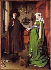 Jan van Eyck (1390-1441) Arnolfini Portrait 1436